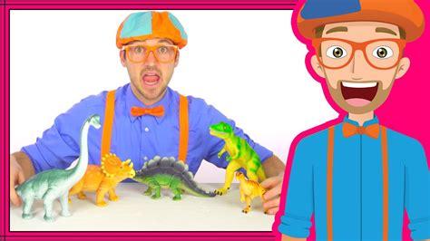 dinosaurs  kids  blippi dinosaur song  toys