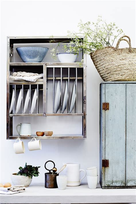 middle plate rack   kitchen wall storage wall drying rack kitchen storage units
