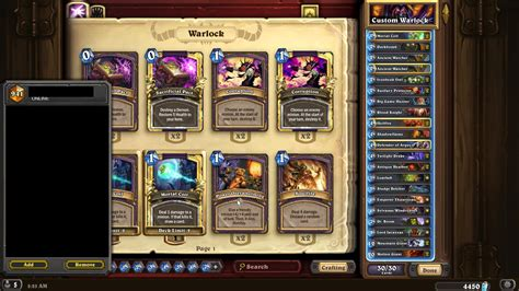 Shaman Deck Kft by Currrent State Of Handlock Tgt Competitivehs