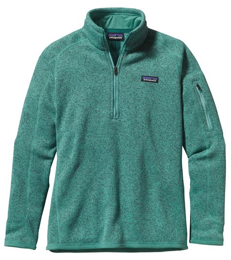 patagonia better sweater womens patagonia 39 s better sweater 1 4 zip fleece jacket