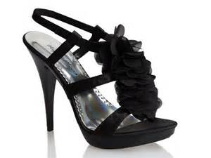 Black Prom Shoes High Heels