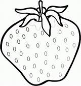 Strawberry Coloring Pages Printable Fruit Strawberries Fresh Colouring Sheets Printables Fruits Prints Getcoloringpages Yummy sketch template