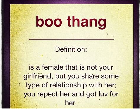 Boo Thang Quotes Quotesgram