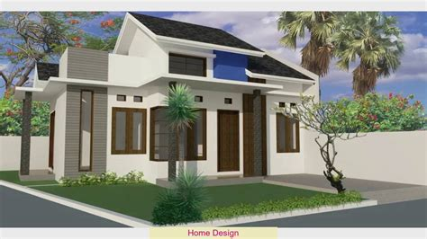 desain rumah minimalis hook  lantai arcadia desain