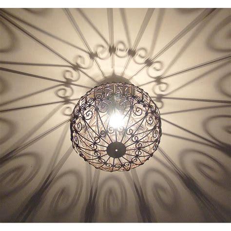 lustre de chambre pas cher lustre le marocain en fer forgé 35cm achat