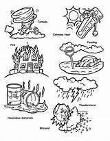 Coloring Tsunami Disaster Natural Disasters Submerged Both Printable Flooded Wave Popular Sabrinaslunchinabox Guardado Desde sketch template