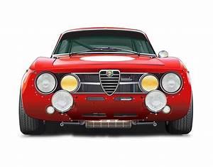 Alfa Romeo Gta No Background Drawing By Alain Jamar