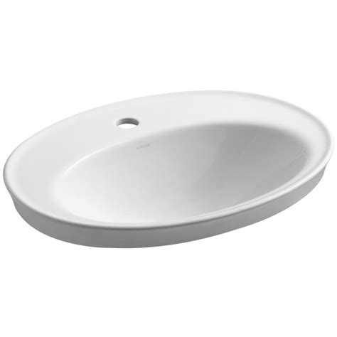 pegasus sienna drop  bathroom sink  white  wh