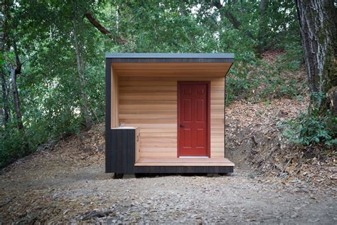 diy project   build   modern outhouse dwell