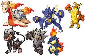 8-Bit Pokemon Sprites