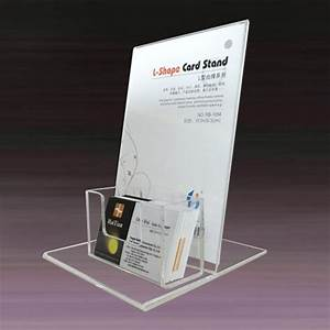 Flyer holder with business card box china flyer holder for Flyer business card holder