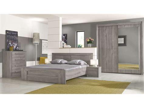 lit 160x200 cm tiroir coloris chêne gris vente de