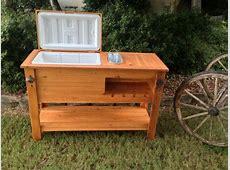 diy wood ice chest boys projects Pinterest Diy wood