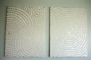 wall decor canvas diy canvas wall a low cost way to add to your home