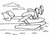 Coloring Pages Airplane sketch template