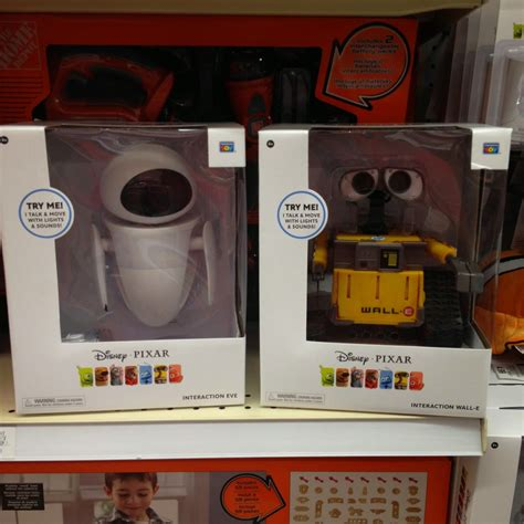 dan the pixar fan wall e thinkway toys interaction eve