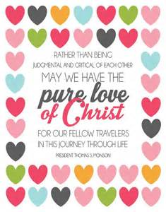 Hand Out LDS Christ-like Love