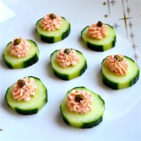 smoked salmon mousse canapés recipe flavoursome delights