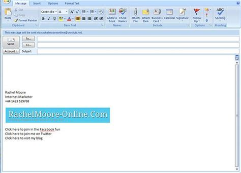 Outlook Resume Templates by How To Write A Signature In Outlook Email Performance