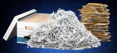 In store paper shredding