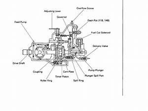 Rotary 3b Inj Pump  Parts Breakdown
