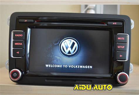 vw golf 5 radio vw car radio stereo rcd510 original radio with code for vw