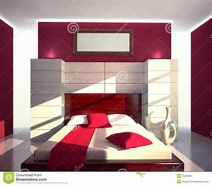 Awesome Chambre A Coucher Rouge Et Beige Pictures