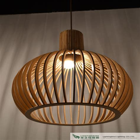Pendant Lighting Ideas: wooden pendant lights with cheap