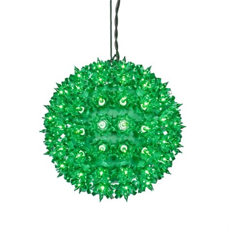 yellow led lighted hanging christmas crystal sphere