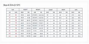 Size Charts  U2013 Toobydoo