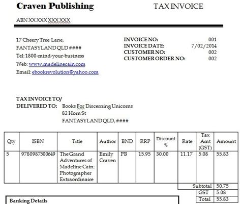 dummy invoice template blank invoice template  invoice
