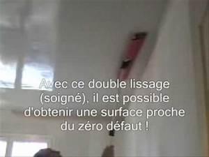 Enduit Garnissant Tout Pret : enduit tout pret enduit rouleau beton placo placoplatre ~ Premium-room.com Idées de Décoration
