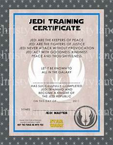 1000 ideas about birthday party for my little jedi on With star wars jedi certificate template free