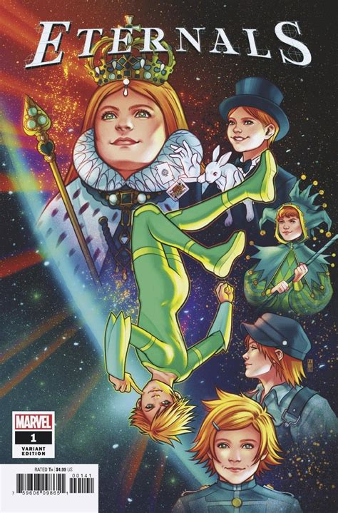 Eternals #1 (Bartel Cover) | Fresh Comics
