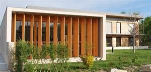 Bâtiment administratif ossature bois à Sorgues