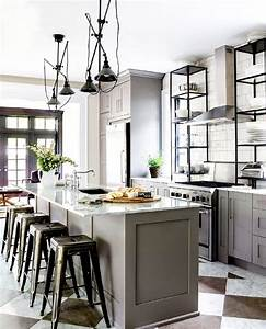 The most stylish ikea kitchens we39ve seen mydomaine for Kitchen cabinet trends 2018 combined with large glass wall art