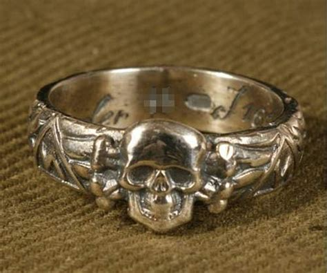 Ss Totenkopf Ring Original Or Fake