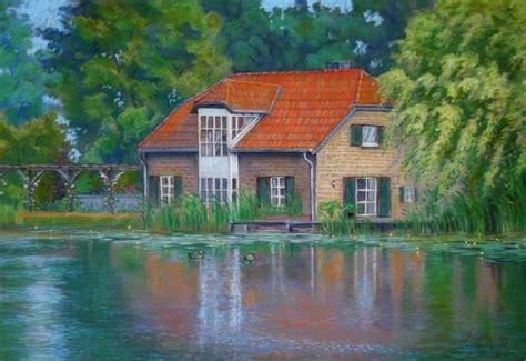 Haus Am See Foto & Bild  Kunstfotografie & Kultur, Gemälde & Skulpturen, Gemälde Und
