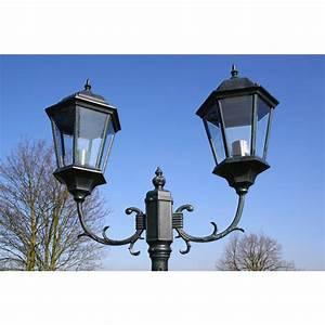 Lampadaire D Extérieur : lampadaire ext rieur en fonte ~ Teatrodelosmanantiales.com Idées de Décoration