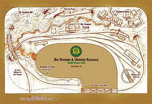 Kert Mark  Model Railroad Logging Track Plans