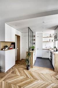 appartement paris deco et design 12 photos inspirantes With parquet parisien nom