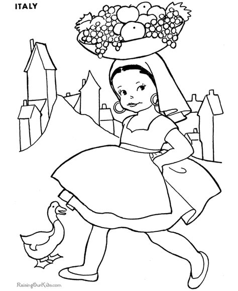 kids   world coloring pages coloring home