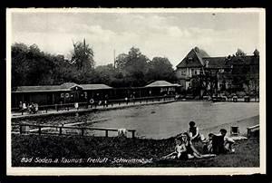 Schwimmbad Bad Soden : ansichtskarte postkarte bad soden taunus freiluft schwimmbad ~ Eleganceandgraceweddings.com Haus und Dekorationen