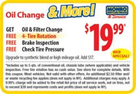 oil change coupons  pinterest
