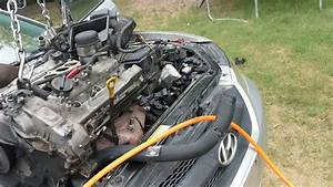 2006 Hyundai Sonata 3 3 V6 Engine Removal