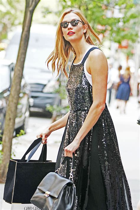 Karlie Kloss Out Shopping New York Hawtcelebs