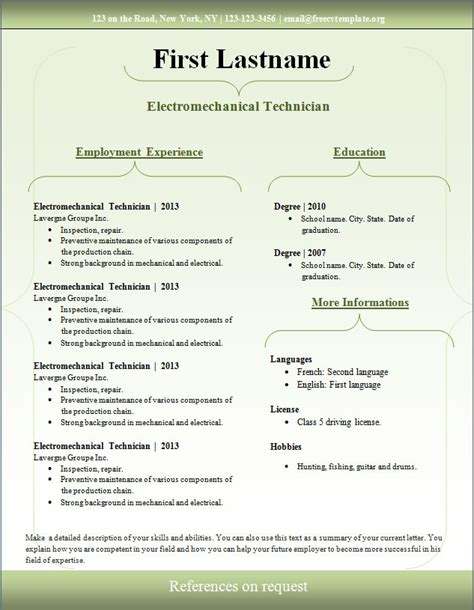 Free Resume Templates Downloads by Free Professional Resume Template Downloads Health