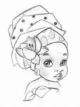 Colorir Desenho Negra Desenhos Pintar Afro Mulher Menina Negras Imagem Coloring Imagens Africano African Meninas Rostos Africa Pintura Dibujos Sobre sketch template