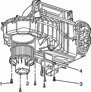 Service Manual  How To Remove Heater Blower From A 2006