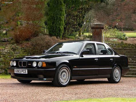 BMW M5 UK-spec (E34) 1989–91 images (1280x960